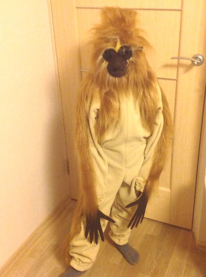 Карнавальный костюм Гиббон