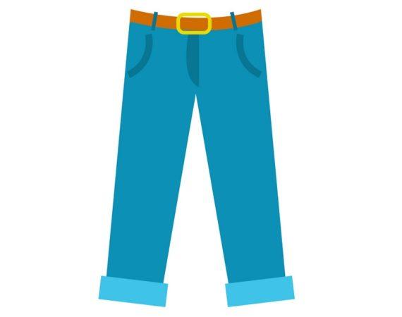 Как исправить брюки с заниженной талией