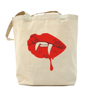 сумка губы вампира