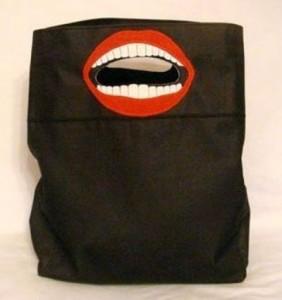 сумка с открытым ртом