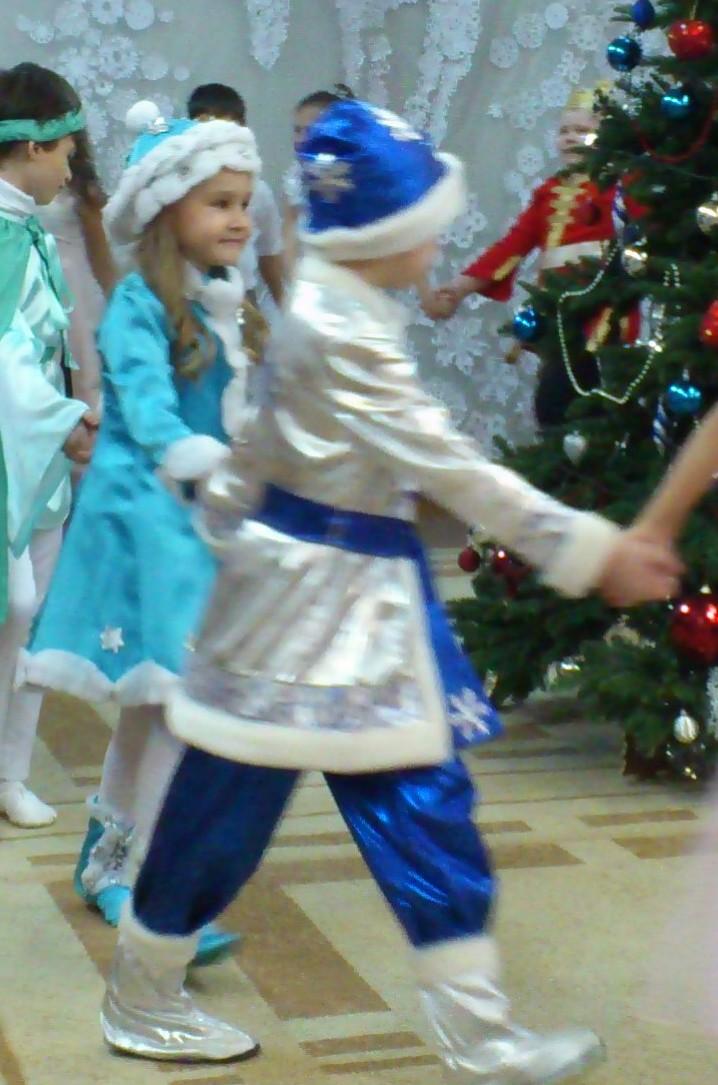Карнавальный костюм зимнего месяца - Февраль
