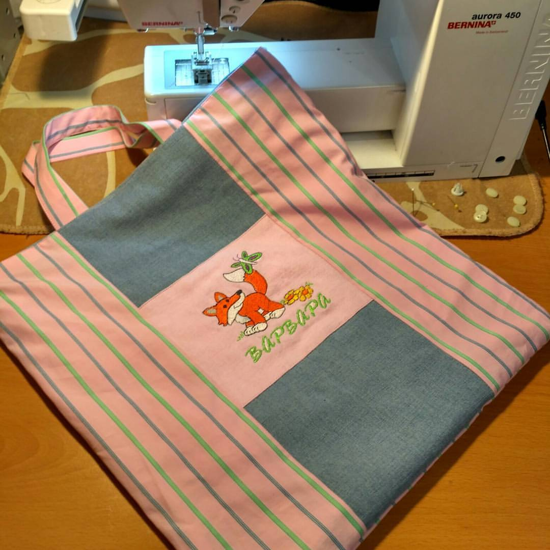 Персональная сумка для детского сада