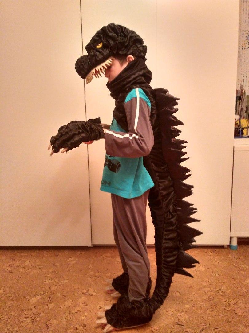 Карнавальный костюм Годзилла
