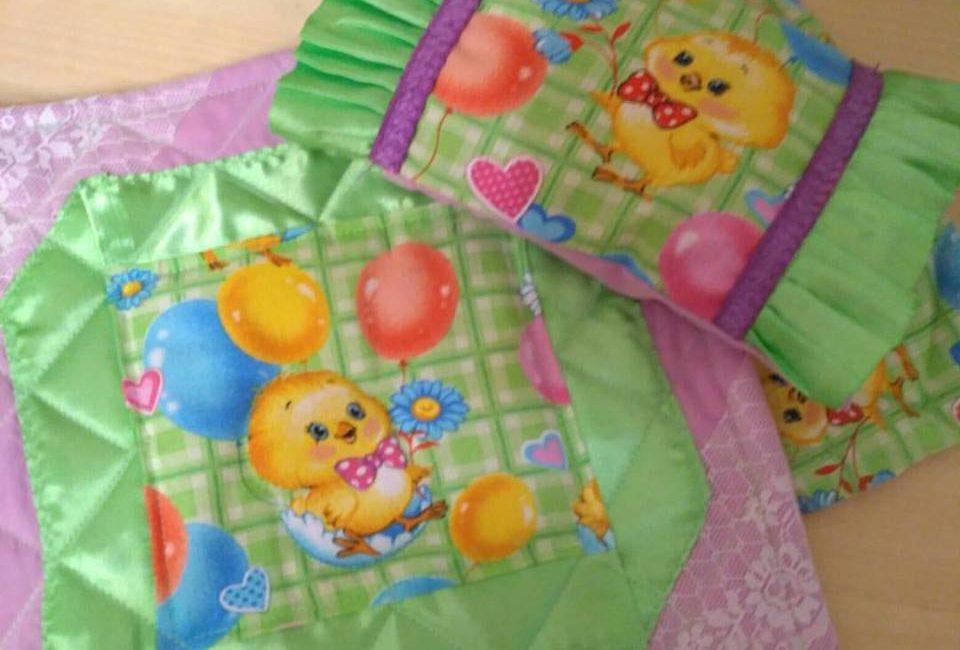 Постель для кукольной кроватки