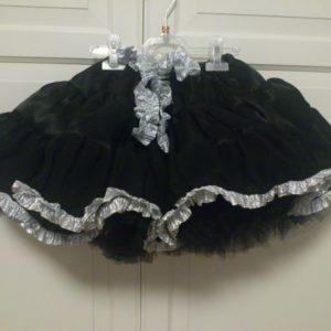 Чёрная юбка шилась для наряда Чёрного лебедя