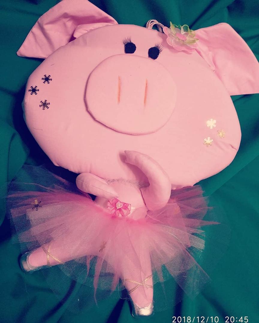 Свинка балерина