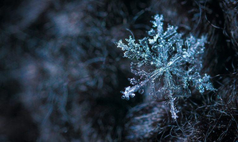 Мартовская снежинка