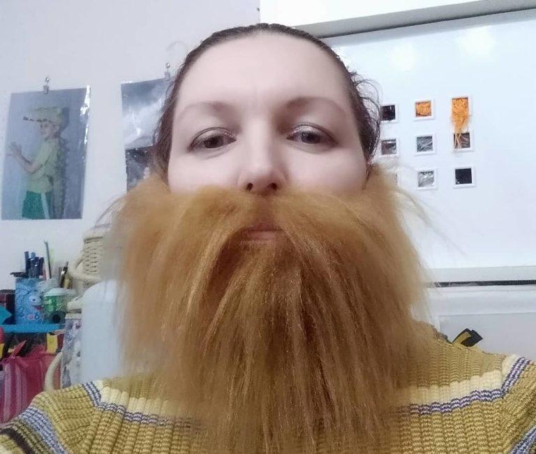 Накладная борода