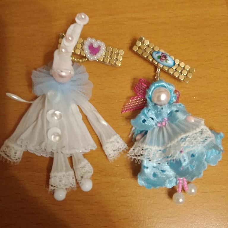Брошки - куколки