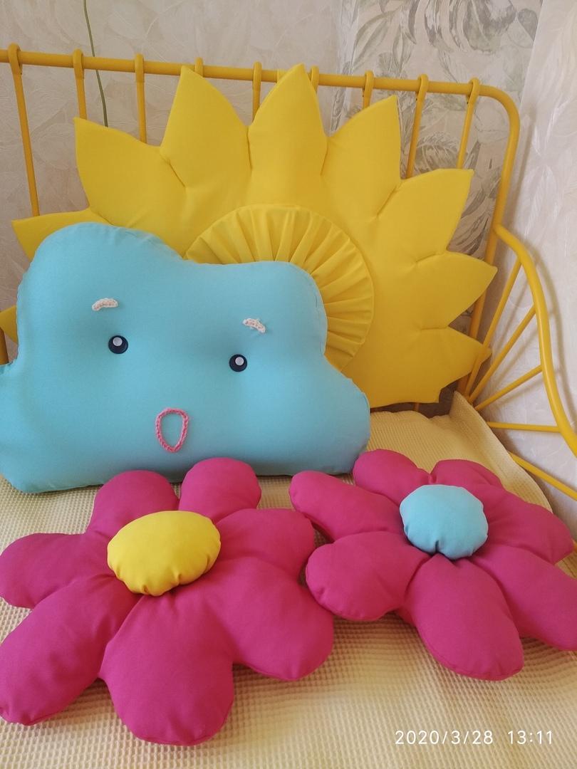 Креативные подушки для детской