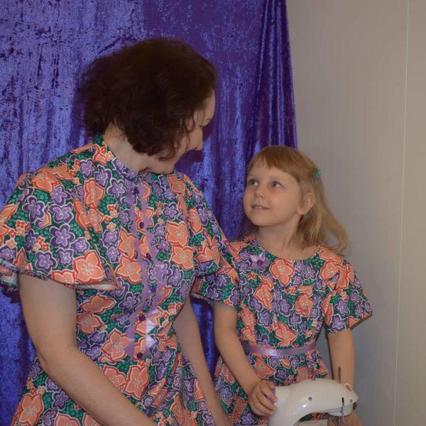 Парный образ для мамы и дочки