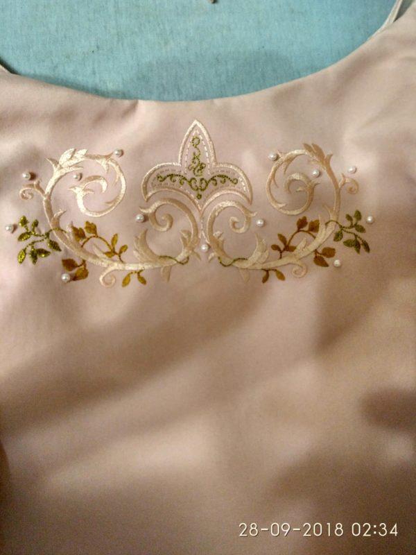 Свадебное платье Розовая жемчужина