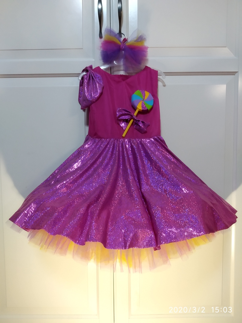 Платье Конфетки для утренника