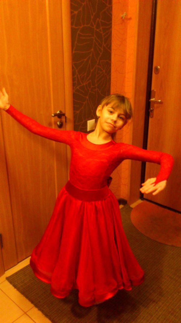Рейтинговое платье для бальных танцев