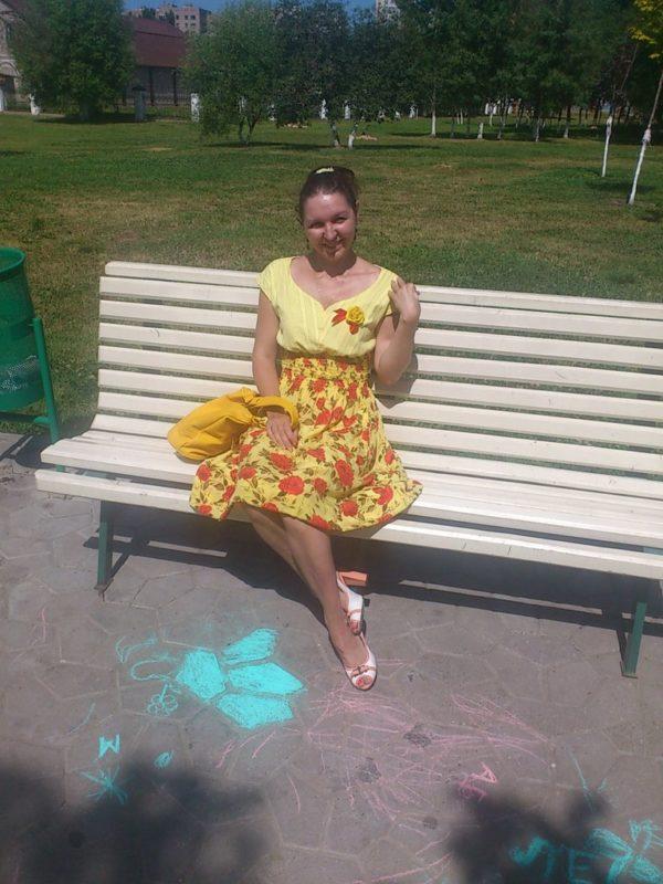 Платье Безумные розочки