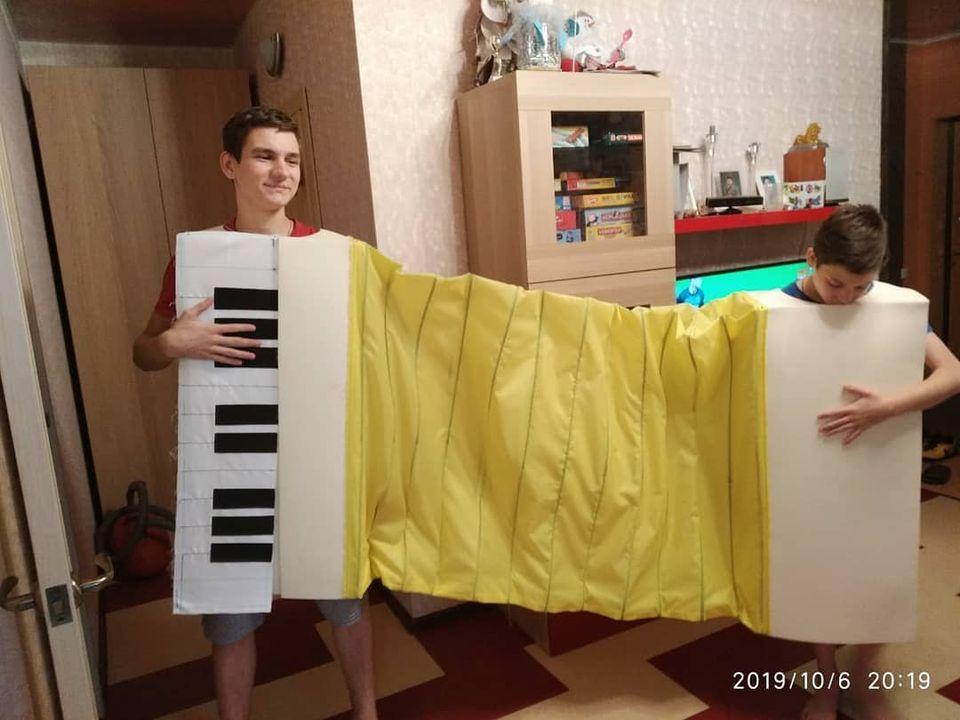 Ростовой костюм Гармонь