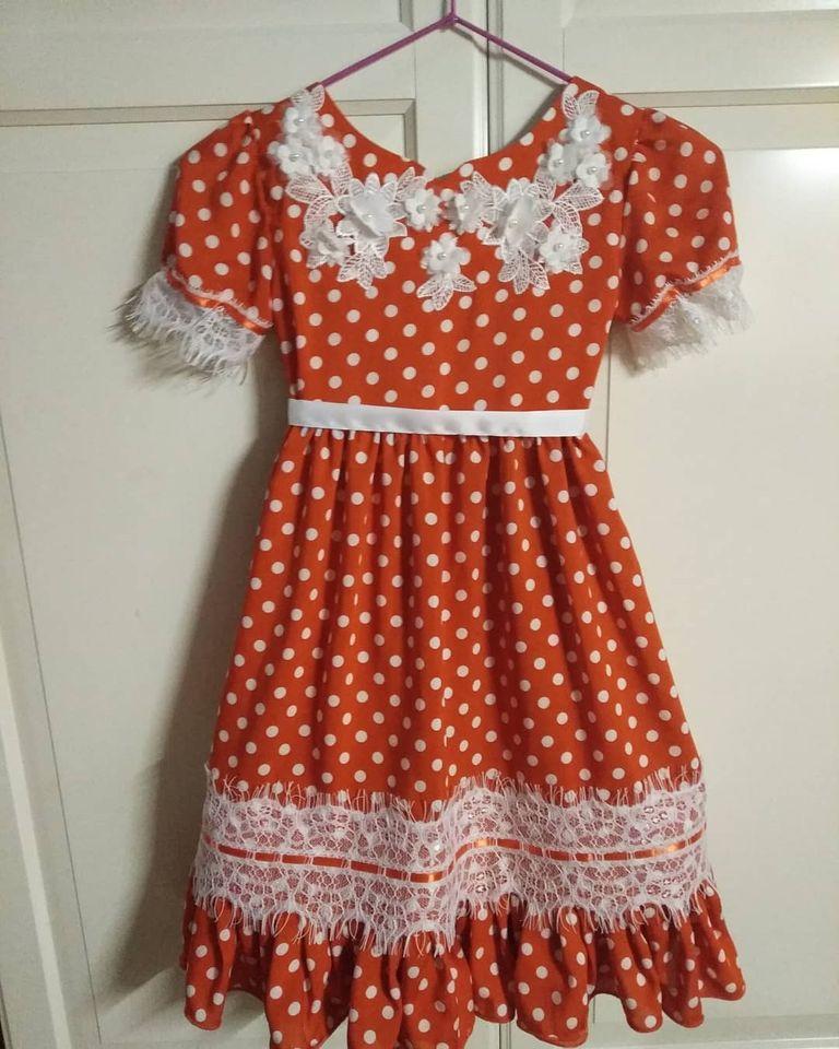 Платье на праздник осени